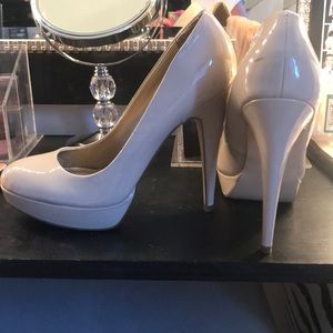 Nude heels by Guess